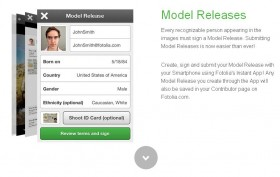 Fotolia Launched a New App