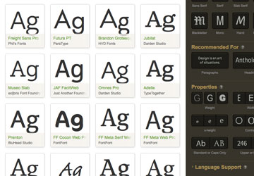New and Hidden Font Features in Adobe Creative Cloud
