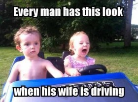 Wife is Driving
