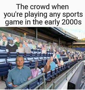The Crowd in 2000's Games